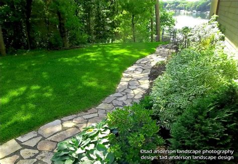 Landscape Mn Lake Minnetonka Landscape For Living Flagstone Walk