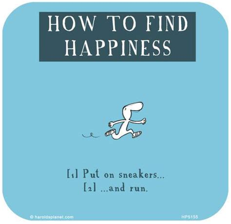 How To Find Interesting Runner Things 1973 How To Find Happiness Put On Sneakers And Run