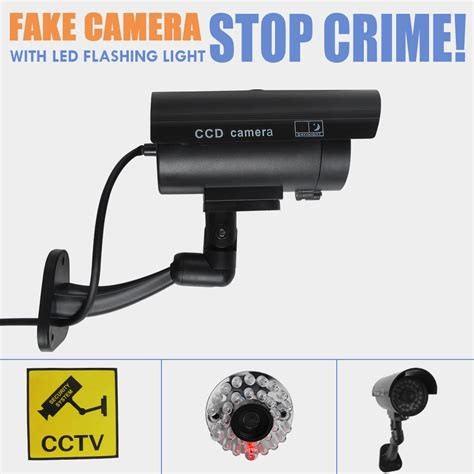 dummy surveillance bullet led