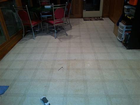 make your linoleum floors shine