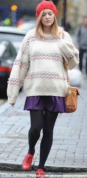 Its Officially Winter Hat Season Fearne Cotton And Osbourne In Wooly Hats by Fearne Cotton Ditches The Coats For Comfort