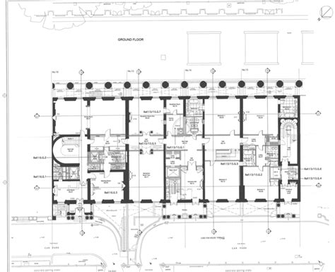 Tidewater House Plans floor plans to 13 16 carlton house terrace in london