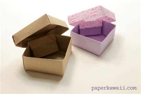 Origami Gem - origami gem box lid tutorial diagram paper kawaii