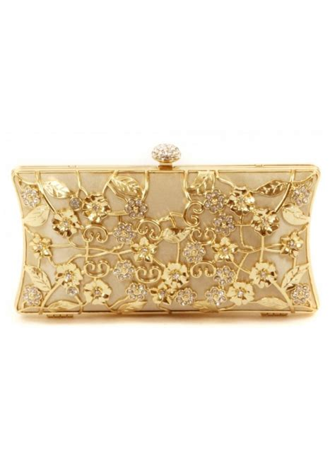 Shopping Magnes Gold Clutch by Gold Clutch Bag Gold Metal Evening Bag Shop Clutch Bags