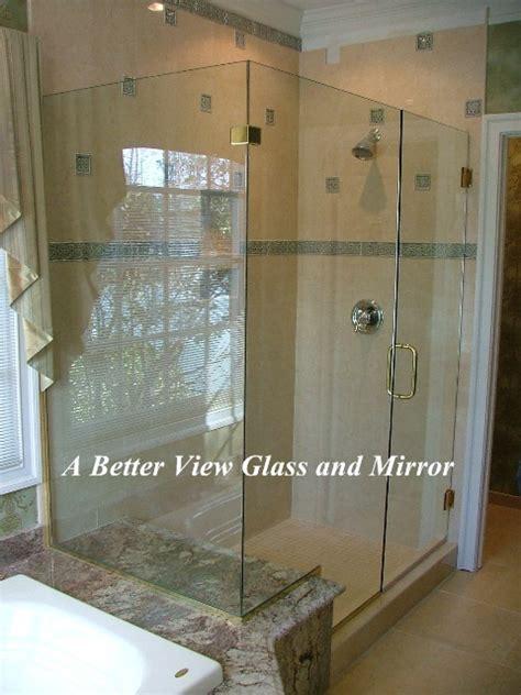 Glass Shower Walls And Doors Custom Framed Frameless Glass Shower Doors