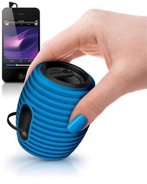 Speaker Mini Philips philips sba3010 37 soundshooter portable speaker blue mp3 players accessories