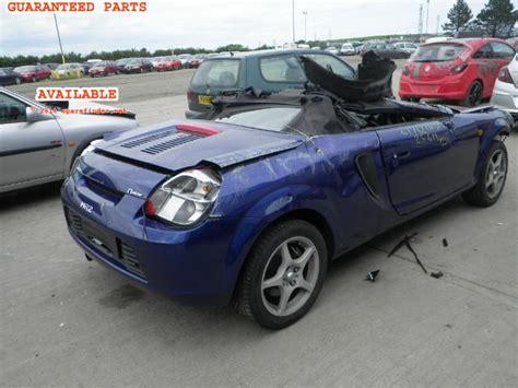 automotive service manuals 2001 toyota mr2 spare parts catalogs toyota mr2 breakers toyota mr2 spare car parts