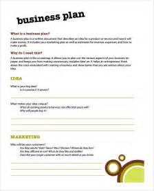 Business Plan Template For Business by Simple Business Plan Template 9 Documents In Pdf Word Psd