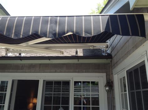 Roof Mounted Retractable Awning by Roof Mounted Retractable Kreider S Canvas Service Inc
