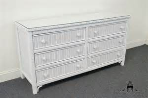 henry link wicker bedroom furniture henry link white wicker 58 dresser 477