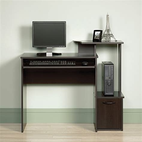 sauder beginnings computer desk cinnamon cherry finish sauder beginnings computer desk cinnamon cherry finish