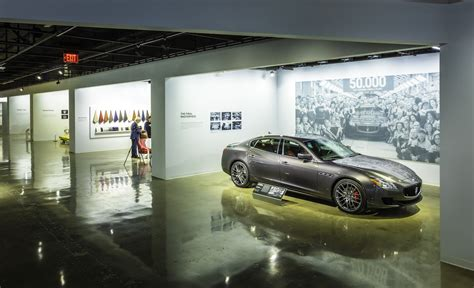 maserati museum maserati exhibit in los angeles modenacars en