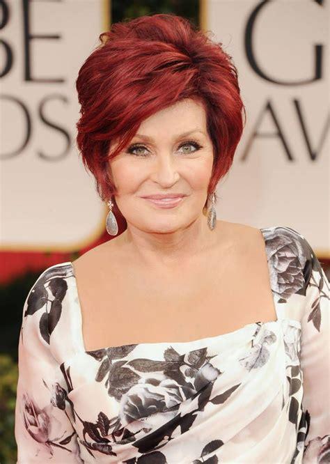 redken sharon osborn red hair color sharon osbourne love her hair color hollywood