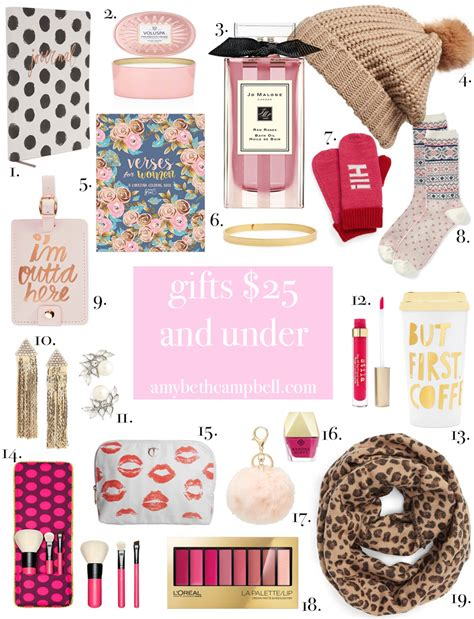 christmas gifts 25 and under