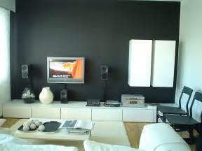 interior design living room lcd tv