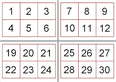 large printable number cards jessie s resources free printables