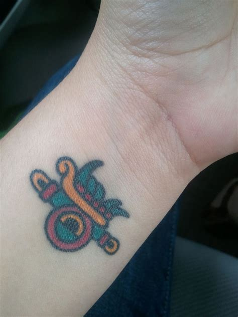 small aztec tattoos 17 best colorful aztec tattoos designs images on