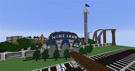 theme park minecraft server biggest theme park server minecraft project