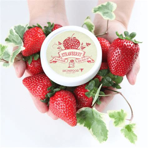 Masker Images Strawberry Fruit Mask Masker Buah Images black sugar strawberry mask wash skinfood since 1957