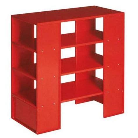 libreria rossa librerie anni 90 minimali innovative