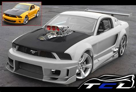 mustang supercharge ford mustang gtr supercharger tuning car leo tcl flickr