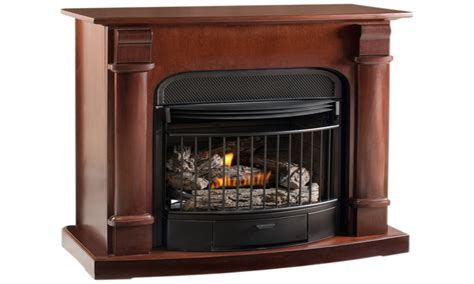ventless wall fireplace vent free propane gas fireplace