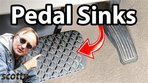 fixing a sinking brake pedal