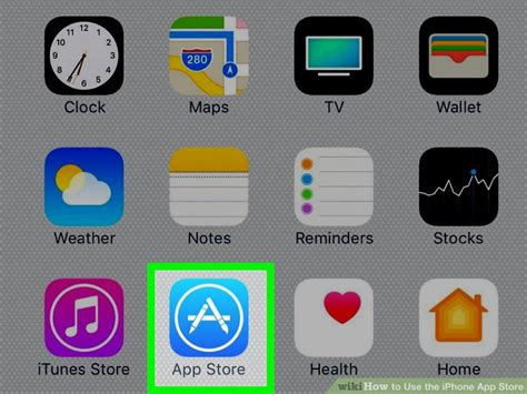 how to use the iphone app store with pictures wikihow
