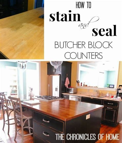 Staining And Sealing Butcher Block Countertops by Butcher Block Counters 171 171 Live More Daily Live More Daily