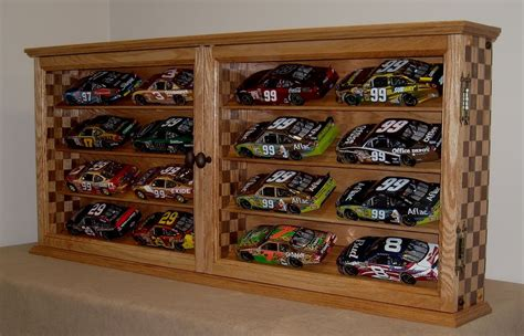 diecast car display cabinet wooden display cabinets for toys car retail store fixture