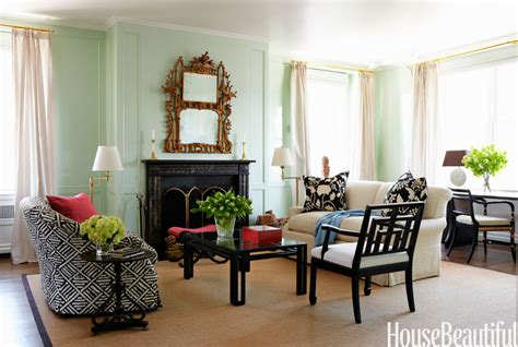 Fresh And Pastel Style Your Living Room In Mint Hues Green Paints For Living Room