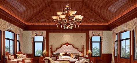 classic american bedroom interior design 3d house