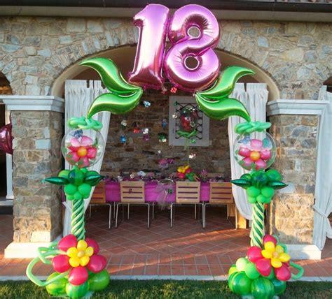 decoracion cumple de 13 anos como hacer adornos con globos para cumplea 241 os