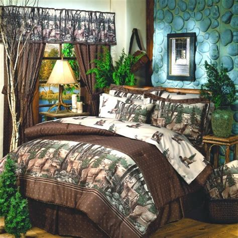 whitetail rustic bedding