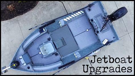 jet boat upgrades stealthcraft jet boat upgrades webisode 3 youtube