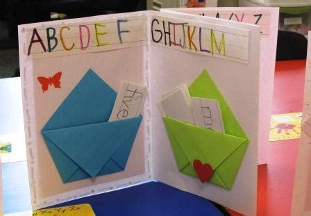How To Make A Paper Pocket Folder - sight word pockets books for kindergarteners playful