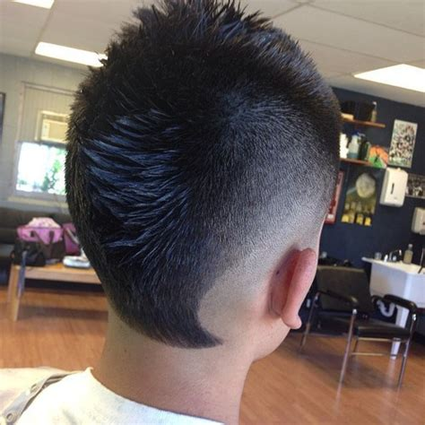 faded mohawk 20 faded mohawks awesome is what they are