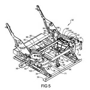 Lazy Boy Power Recliner Parts by Patent Us8366188 Release System For Furniture Member Leg