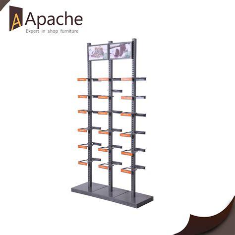 shopping mall retails shoe store metal display racks buy
