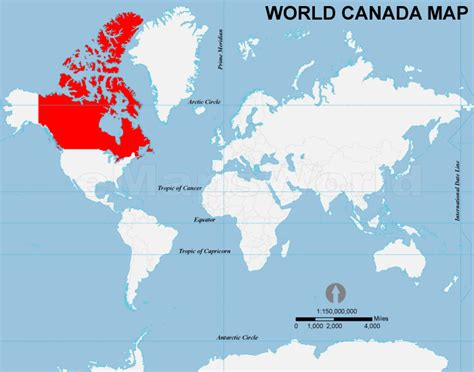 map of the world canada canada location map location map of canada