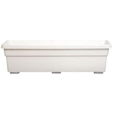 dynamic design window box planter white by dynamic