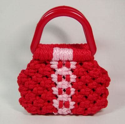 How To Make Macrame Bags - you to see macrame purse on craftsy