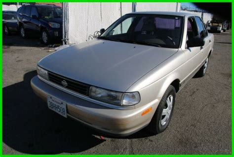 how to fix cars 1992 nissan sentra electronic throttle control 1992 nissan sentra automatic 4 cylinder no reserve classic nissan sentra 1992 for sale