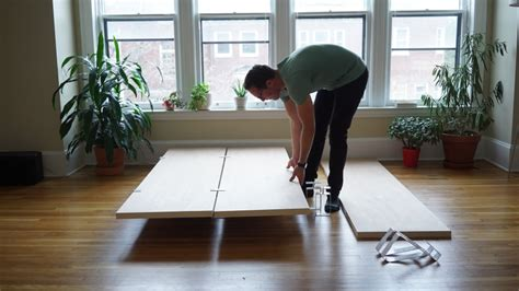 putting together bed frame the floyd bed a bed frame built for city living core77