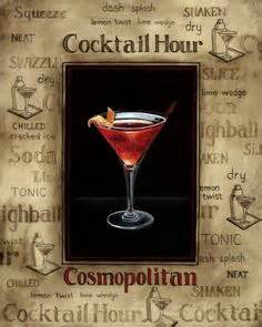 cosmopolitan drink quotes signature drink signs chalkboard style prints for by