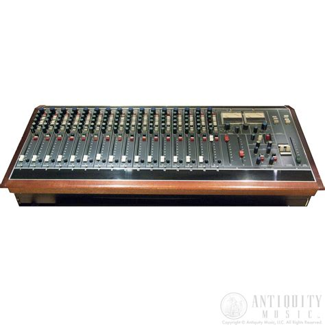 Mixer Equalizer neve 5465 16 channel console sidecar mixer eq