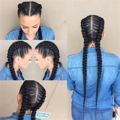 two braids hairstyles natural hair ellabellaxo all done up pinterest hair style