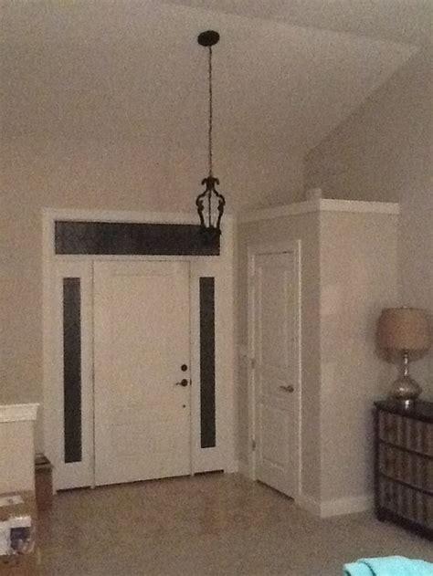 foyer lighting for 9 foot ceilings height of foyer light
