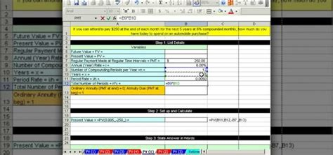 future value excel template annuityf excel annuity present value