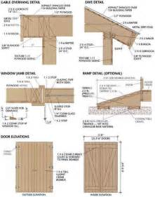 plans for sheds free storage shed plans and materials list